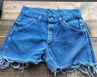 "Vintage denim shorts  "" sears. """