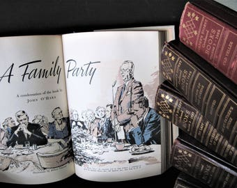 First Edition Books, Readers Digest Books, Brown Book Set, Photo Prop, Wedding Decor, Instant Library, Home Decor, Office Decor, Brown Books