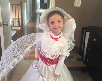 Child Sized Mary Poppins dress