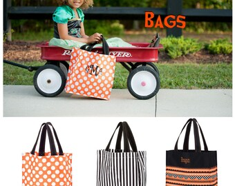 Personalized Halloween Bag, Trick or Treat Bag, Halloween Bag, Halloween Bucket, Halloween Candy Bag, Halloween Sack, Halloween Monogram Bag