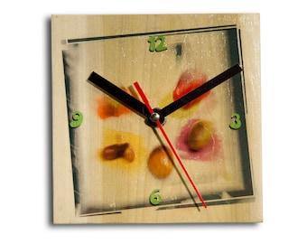 Poplar Contemporary Clock