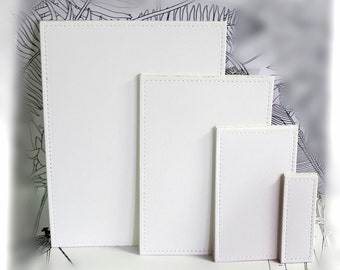 Accessory- Stiched Cardstock (total of 16)