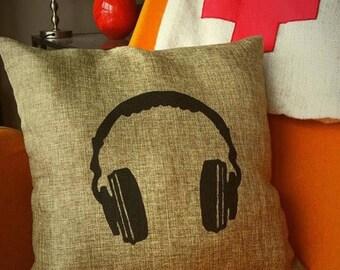 Headphones cushion cover