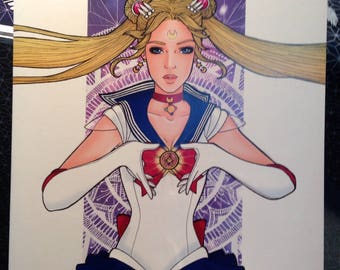 "Coloring Book ""Prism Power"" Sailor Moon"