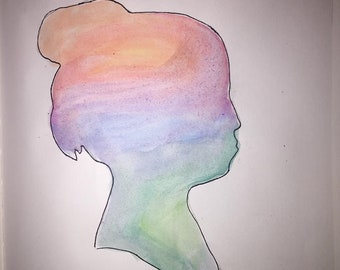 In Her Mind Painting