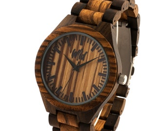 FREE Engraving, Wood Watch, personalized men watch, engraved watch, Groomsmen gift,custom wood watch,personalized, boyfriend gift, TOP100