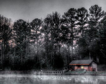 Shocco Springs, Early Morning Lake 6