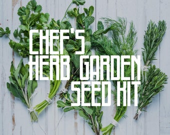 The Chef's Herb Garden Seed Kit