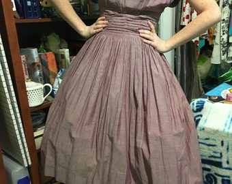 Vintage 50s Redford Shirtwaist Dress