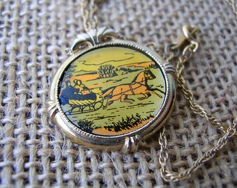 Vintage Avon Necklace - Country Christmas 1982
