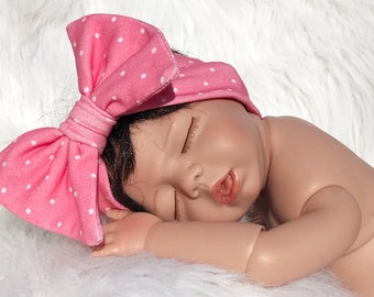Bow Headband 0-3 Months - Photo Prop and Every Day Wear