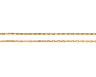 14Kt Gold Filled 0.62mm Beading Chain Strong and Heavy  - 100ft Made in USA 20% discounted (5307-100)/1