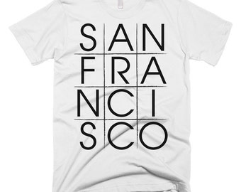 San Francisco Tic-tac-toe T-shirt