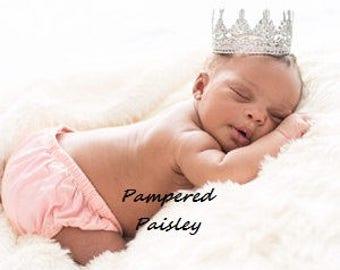 Lace Crowns, Crown Cake Topper, Birthday Crown, Newborn Crown, boy crown, girl crown, Photo Prop Crown, Baby Lace Crown