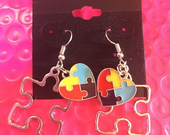 Autism Awareness earings