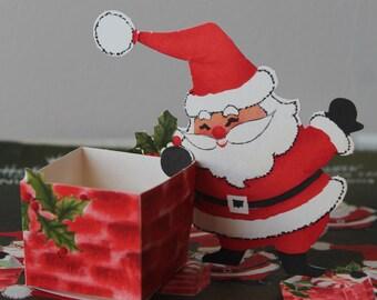 Vintage Hallmark Santa Nut Cups Vintage Hallmark Nut Cups Vintage Hallmark Christmas Nut Cups Vintage Hallmark Christmas