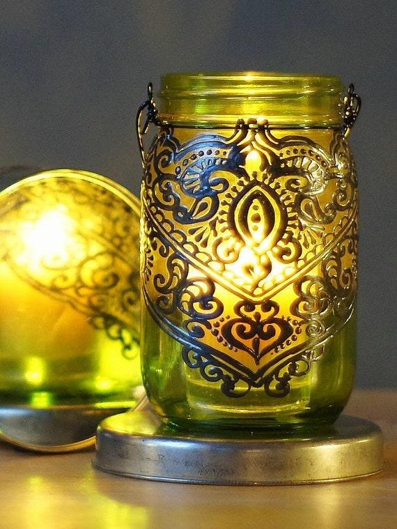 Outdoor lightingpainted mason jar patio lantern hanging workwithnaturefo