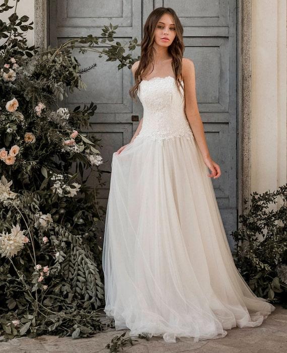 Lace Corset Wedding Dress
