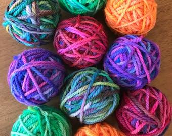 16 ply wool balls