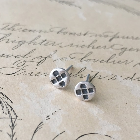 Little Earrings, Small Silver Studs, Post Earrings, Tiny Studs