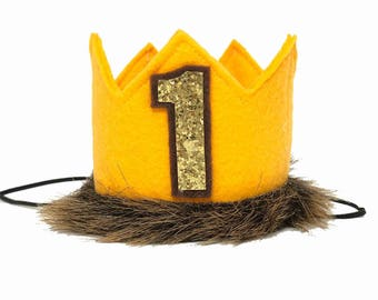 Where the Wild Things Are- Felt Crown