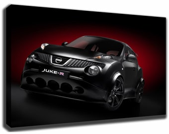 NISSAN JUKE R Canvas/Poster Wall Art Pin Up HD Gallery Wrap Room Decor Home