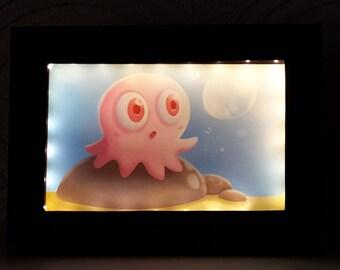 Baby Octopus Night Light (Small)