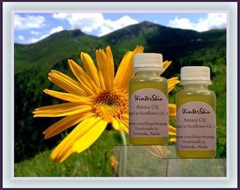 Arnica Oil Infusion, Macerate, with Camphor, Eucalyptus, Sports Oil, Massage Oil
