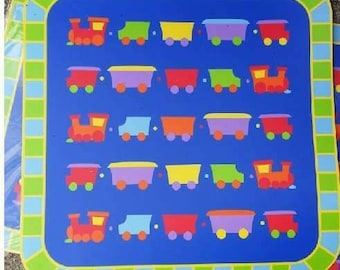 BLOWOUT CLEARANCE Kids Reusable Placemats, Party Placemats, Customizable Placemats