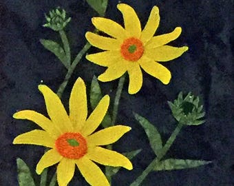 Helianthus - Wall Quilt