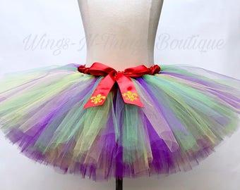 ADULT MARDI GRAS Tutu Skirt, Womans Costume, Party, New Orleans, Fleur De Lis, Women, Ladies, Teen, Party Favors, Dance