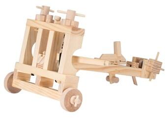 Wooden Automata - Ballista