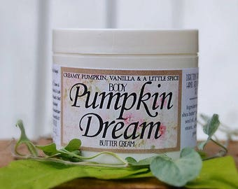 Pumpkin Dream Butter Cream