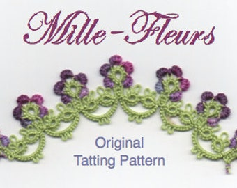 Mille-Fleurs - TATTING PATTERN with variations