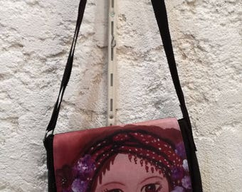 """Bag """"in the eyes of Mina"""""""