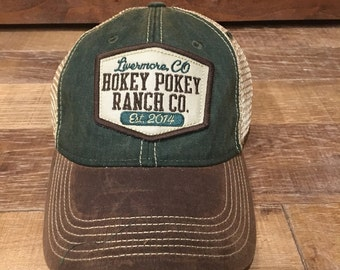 Hokey Pokey Adult Patch Hat