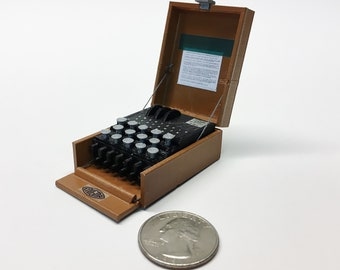 Mini Enigma Machine - 3D Printed!
