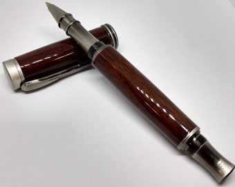 Honduras Rosewood Modesto in Antique Silver