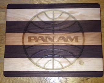Pan American Airways 8 by 10 inch cutting board