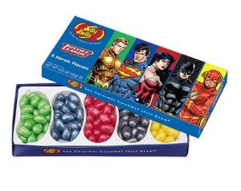 Jelly Belly Justice League 4.25 oz. box