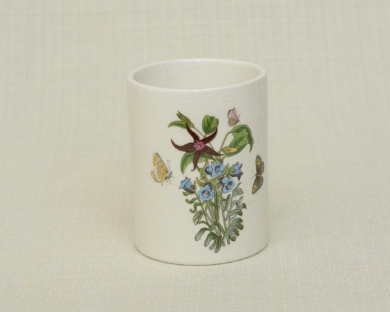 The English Botanic Garden 1972 Collection Salt Jar With Plant
