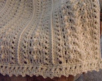 Pattern Only Weekender's Aran Fisherman Crochet afghan blanket INSTANT DOWNLOAD PDF