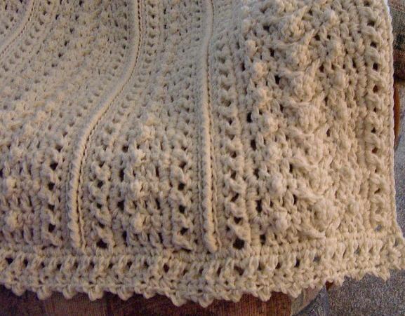 Pattern Only Weekenders Aran Fisherman Crochet Afghan