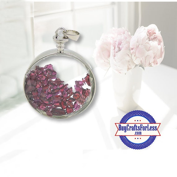 CLEARANCE Crystal PENDANT, Reiki Natural Garnet  +FREE SiIPPING & Discounts*