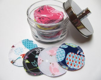 Reusable Facial Rounds, 30 Cosmetic Rounds, Makeup Remover Pads, Eco-Friendly Face Scrubbies