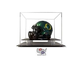 Desk or Counter Top Mini Helmet Display Case by GameDay Display