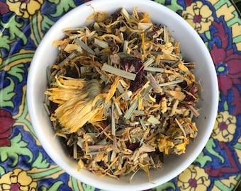 Solar Plexus Chakra - Ginger Kick - organic loose leaf tea blend 120gms
