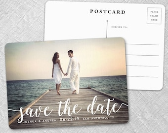 Handwriting - Postcard - Save-the-Date