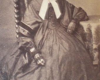 CDV original victorian portrait. 1870s