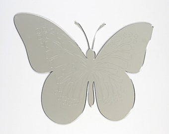 Premium Acrylic Mirror | Butterfly Shape Mirror |  Premium acrylic | Made in the UK